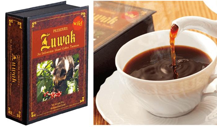高級コーヒー/コピルアック インドネシアのお土産