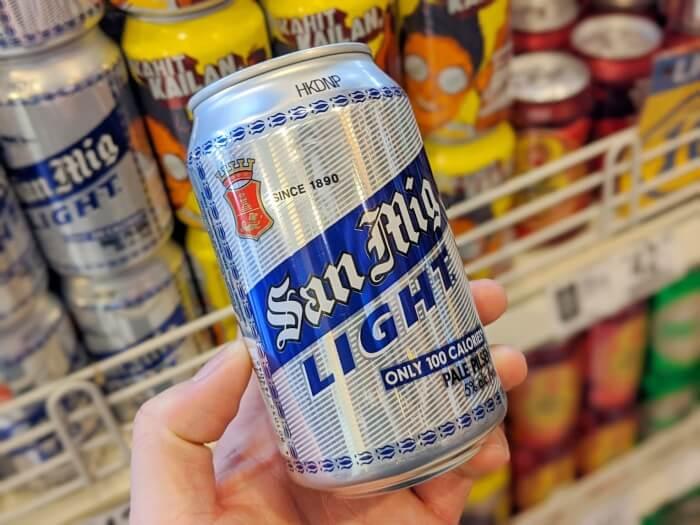 サンミゲルビール ライト/サンミゲルビール  フィリピンのお土産