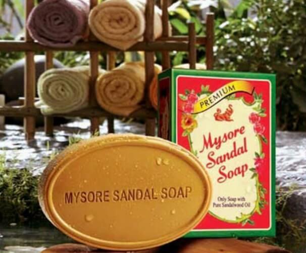 アーユルヴェーダ石鹸 シンガポールのお土産