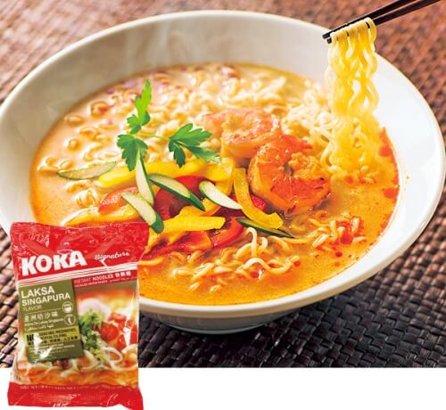 ラクサ インスタント麺 シンガポールのお土産