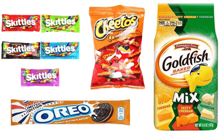 アメリカのスーパーで買えるお菓子 アメリカのお土産