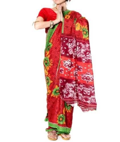 サリー インドのお土産