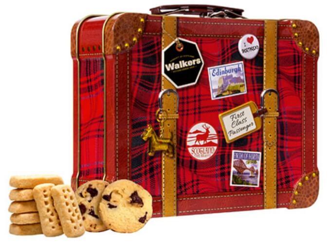 ショートブレッドクッキー/walkers イギリスのお土産