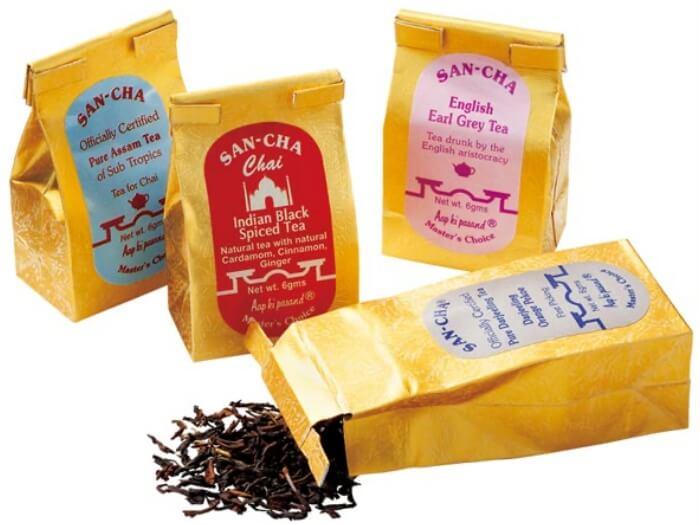 紅茶/サンチャ インドのお土産