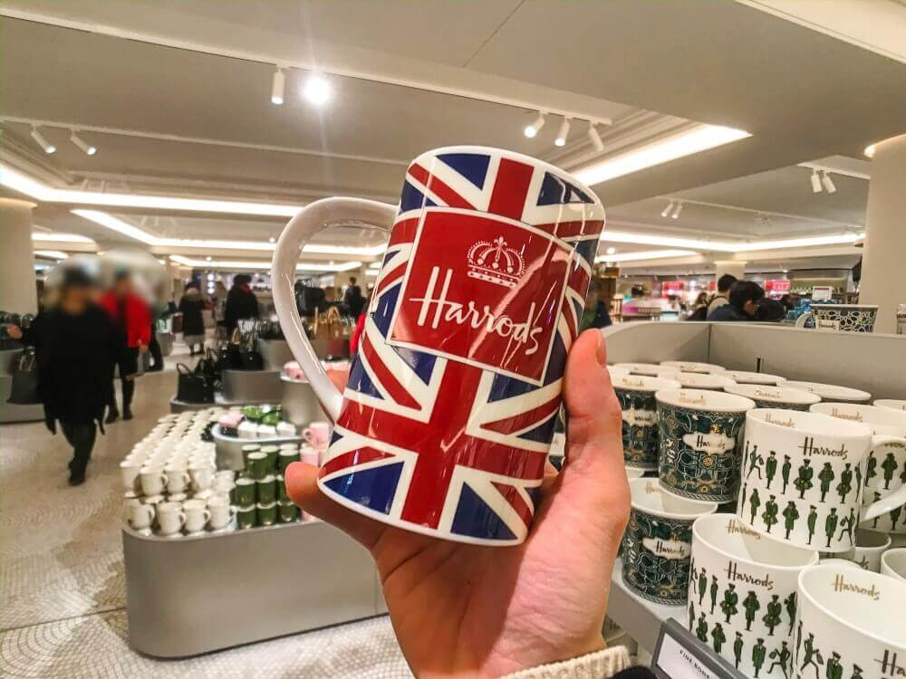 マグカップ ロンドン ハロッズのお土産