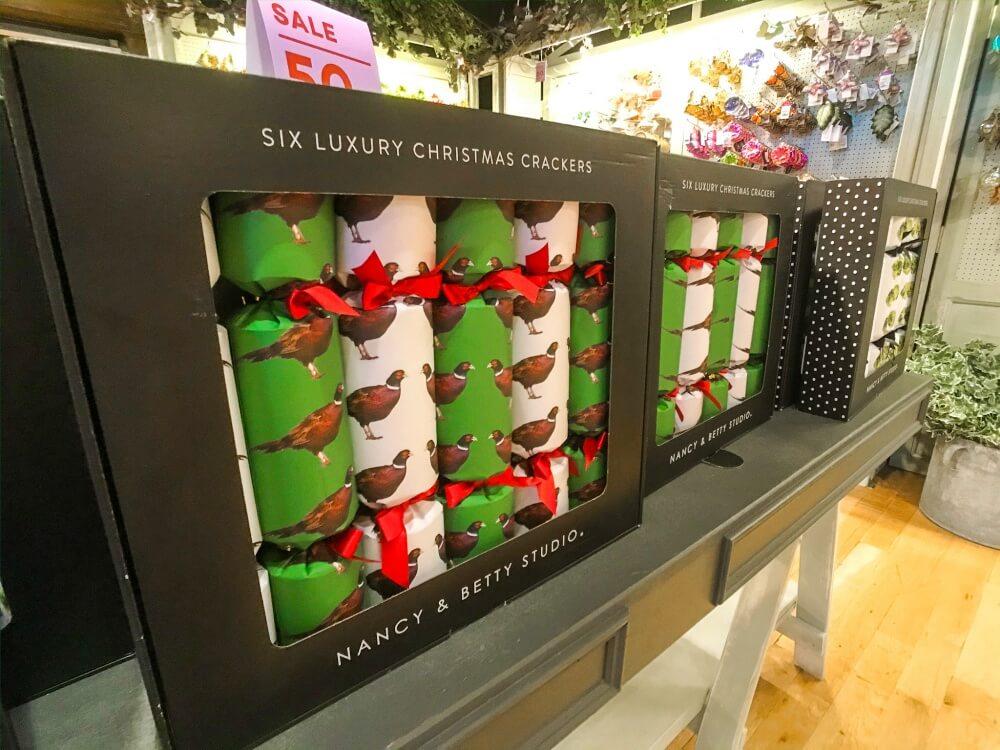 クリスマスクラッカー リバティロンドンのお土産