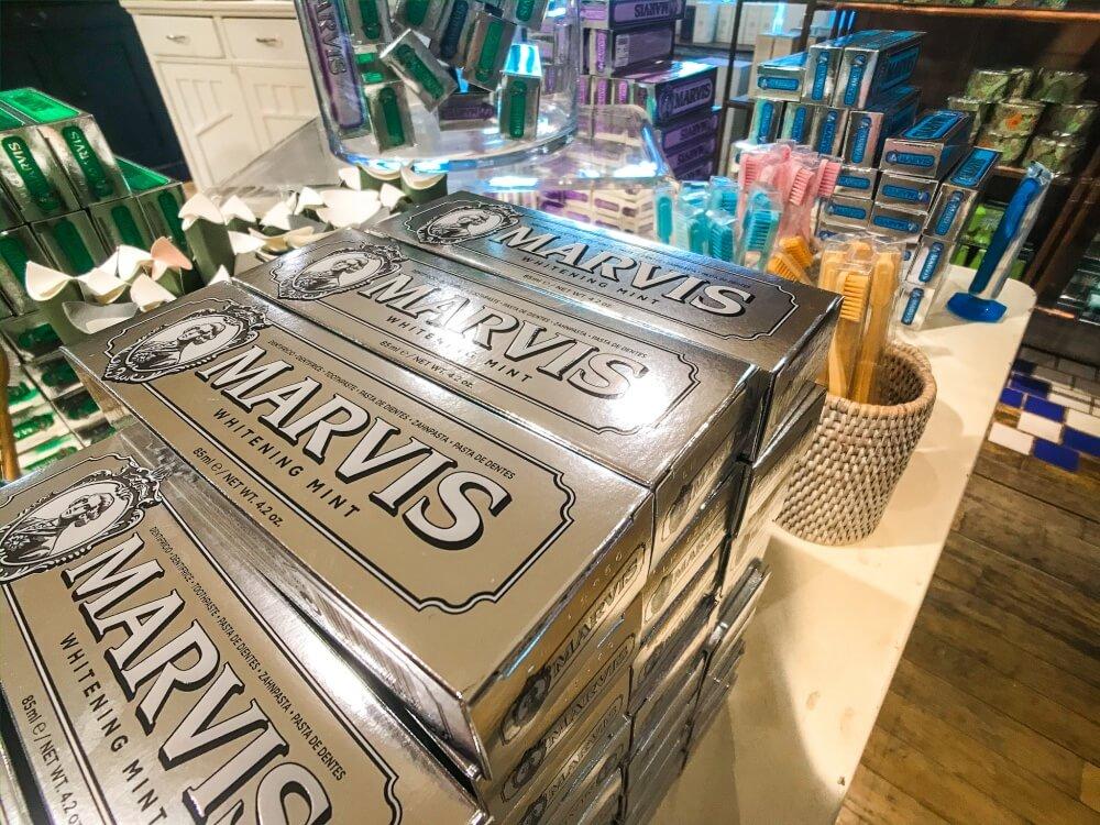 歯磨き粉/Marvis リバティロンドンのお土産