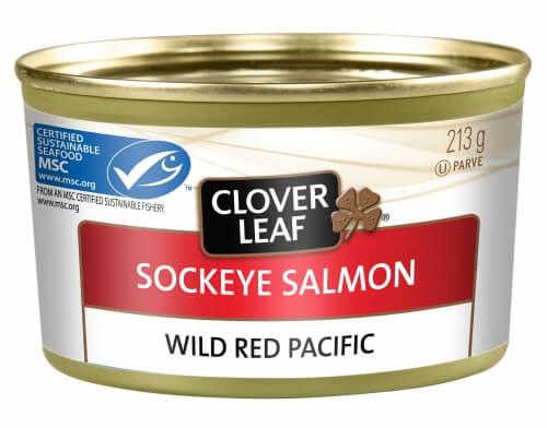 サーモン缶/CLOVER LEAF カナダのお土産