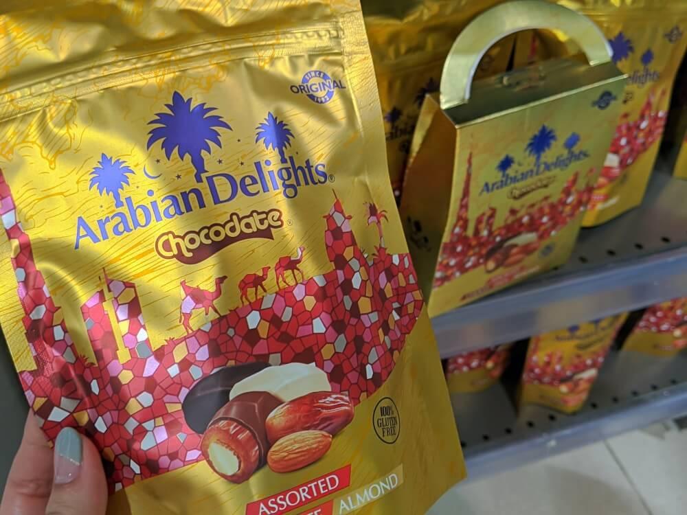 デーツチョコレート ウェイトローズ(ドバイモール店)のお土産