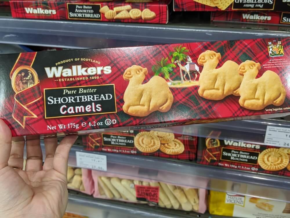 クッキー/ウォーカー ウェイトローズ(ドバイモール店)のお土産