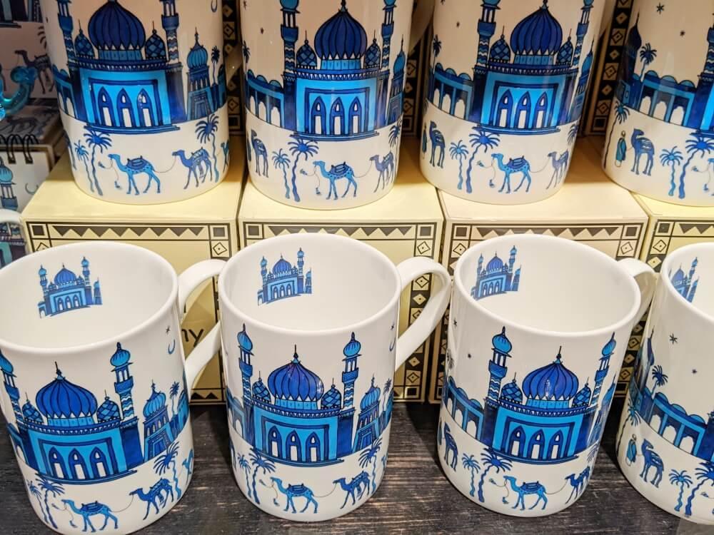 モスク柄マグカップ ドバイモールのお土産