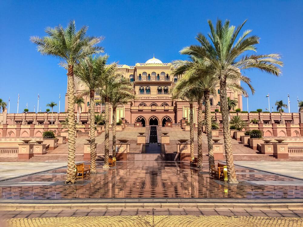 エミレーツパレスホテル アブダビ