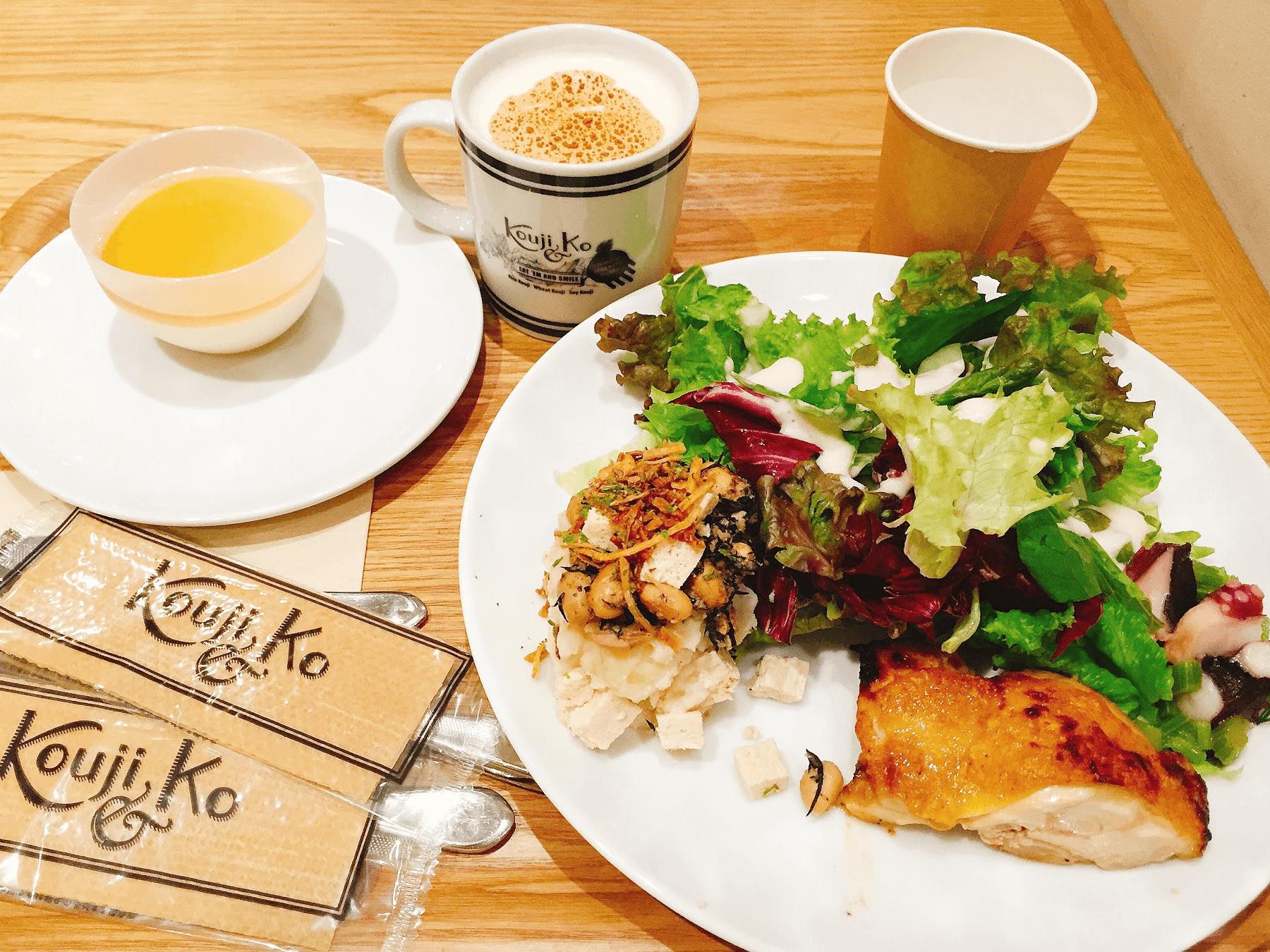 【新宿】甘酒や麹の新たな発酵スタイル、発酵デリカデッセン『Kouji&ko』新宿高島屋店に行ってみた!