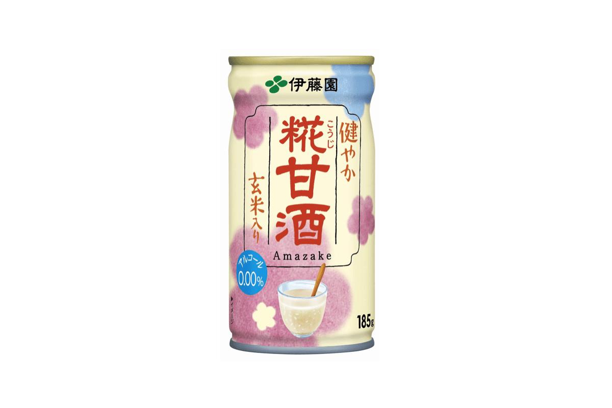 栄養価抜群の玄米入り!ノンアルコール甘酒『健やか 糀甘酒』が登場!