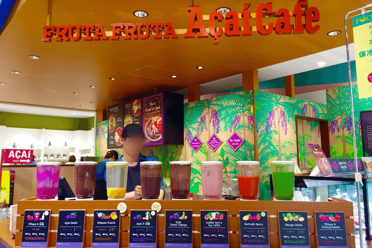 美容フルーツのカフェ『Fruta Fruta Acai Cafe』でドランゴンフルーツ甘酒を発見!