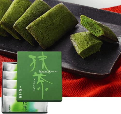 抹茶フィナンシェ/丸久小山園 京都のおすすめ抹茶お土産