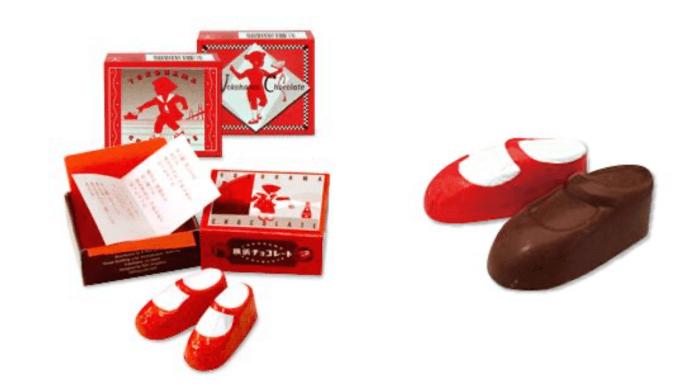 赤い靴/横浜チョコレート 横浜のスイーツお土産
