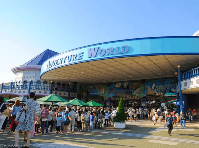 和歌山の人気観光地「アドベンチャーワールド」