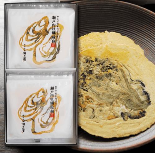 牡蠣せんべい/瀬戸内庵 倉敷のお土産