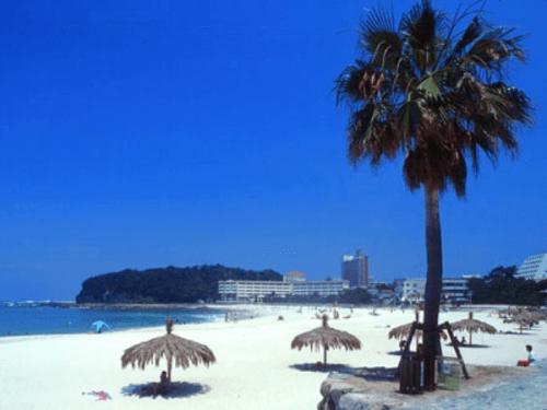 和歌山の人気観光地「白良浜」