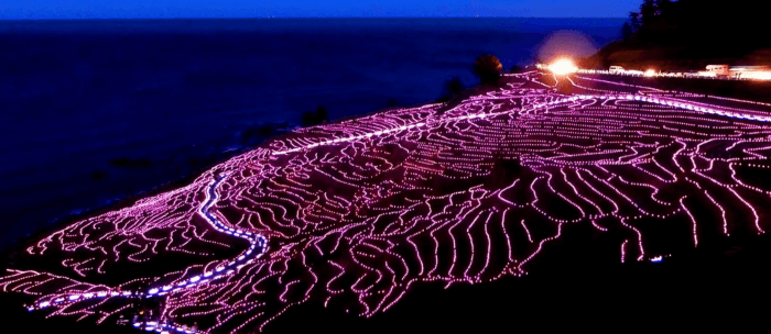 石川県の人気観光地「千枚田 」
