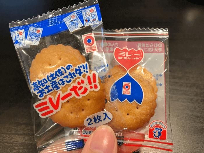 高知県のお土産「ミレー ビスケット」