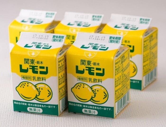 栃木レモン/栃木乳業 栃木県のおすすめお土産