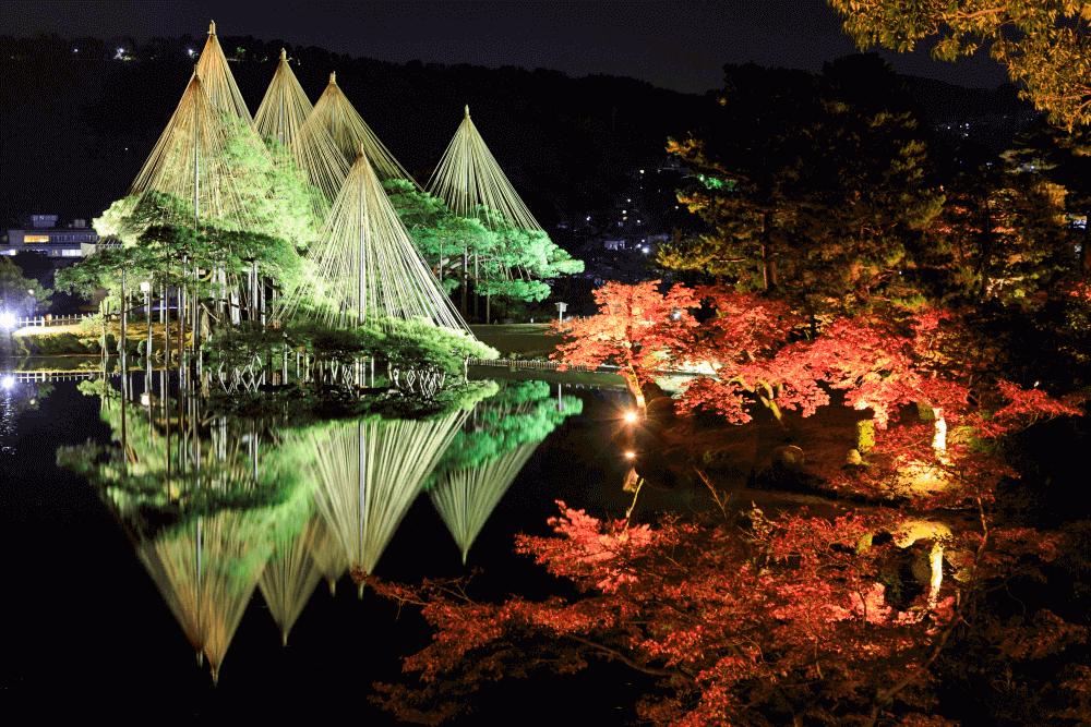 石川県金沢市の人気観光地「兼六園 」