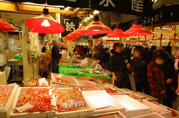 石川県金沢市の近江町市場