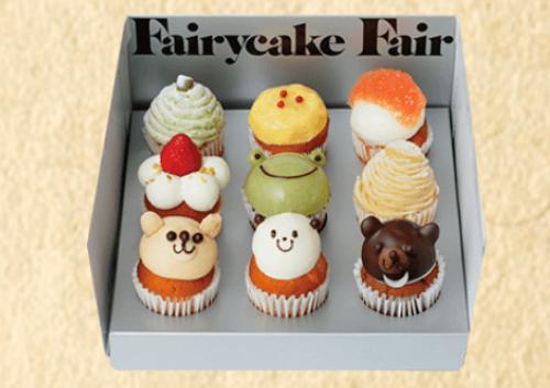 フェアリーケーキフェアのフレッシュカップケーキ