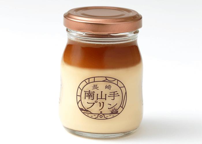 南山手ステンドグラスプリン 塩キャラメル (1)