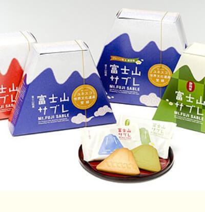富士山サブレ/富士製パン 富士山のお土産
