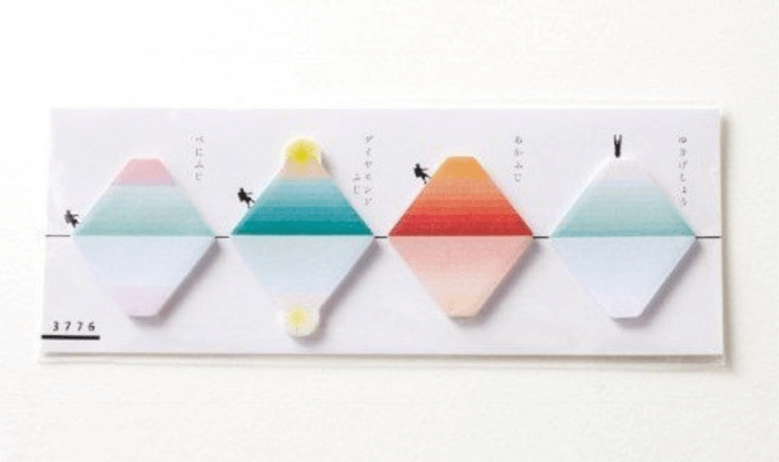 さかさ富士ふせん/サンニチ印刷 富士山のお土産