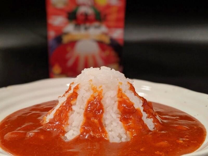 赤い富士山カレー