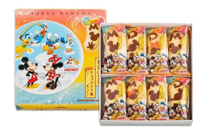 東京ばな奈ミッキー&フレンズ チョコバナナ味 「見ぃつけたっ」