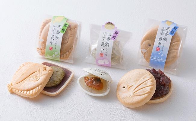 船橋三番瀬最中/御菓子司 扇屋