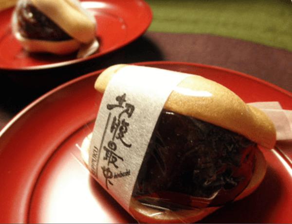 切腹最中/御菓子司新正堂