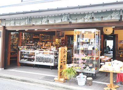 吉野桜の工芸品/平木商店