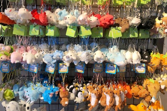 ぬいぐるみキーホルダー/八景島シーパラダイス
