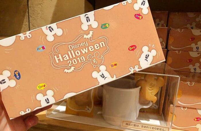 ハロウィン限定 ミッキー ふちクッキー/ディズニーシーのお土産