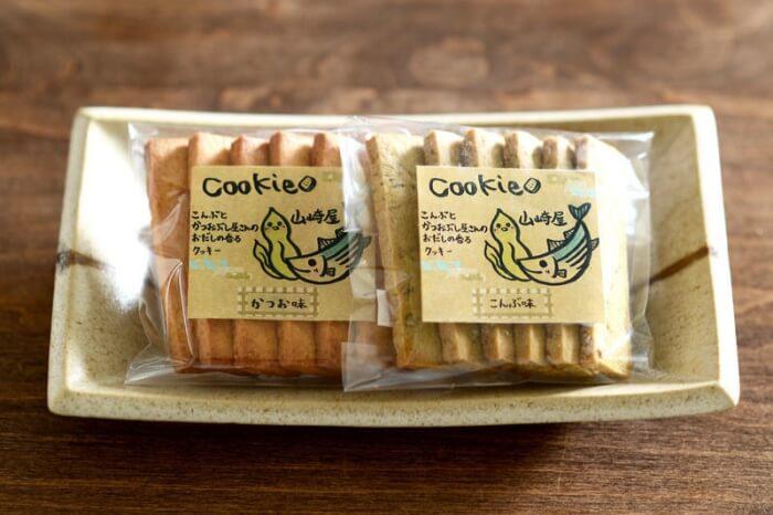 かつおクッキー•昆布クッキー/山崎屋昆布店