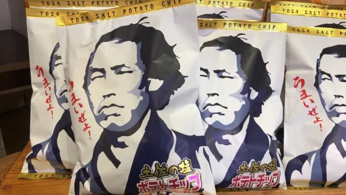 土佐の塩ポテトチップス/マルシン