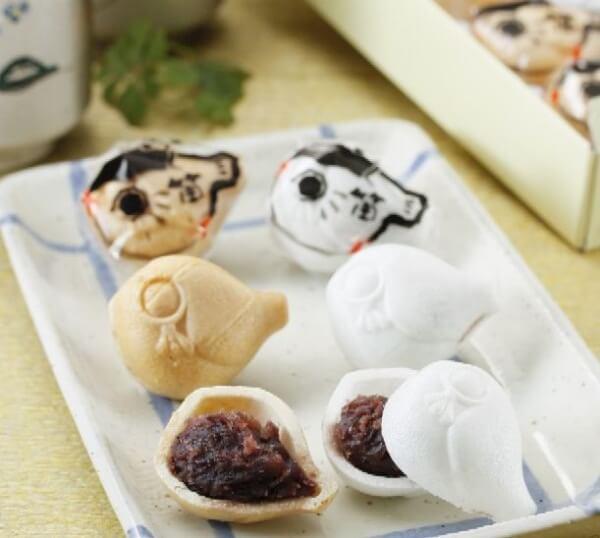 ふく笛最中/江戸金