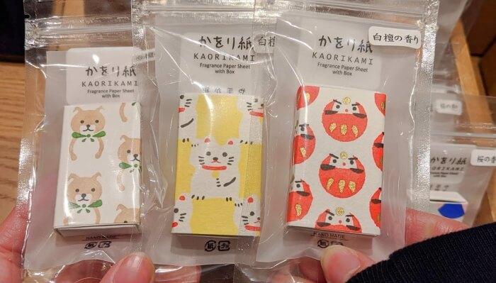 香り紙/鳩居堂 渋谷スクランブルスクエア お土産
