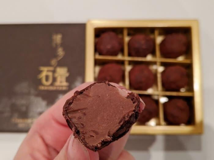 石畳トリュフ/チョコレートショップ 福岡空港のお土産