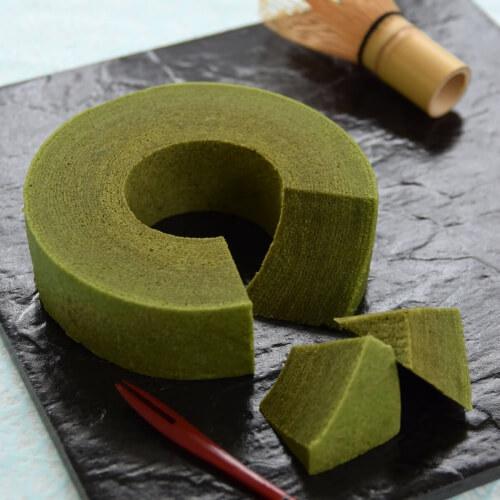 静岡抹茶バウムクーヘン/治一郎 浜松のお土産