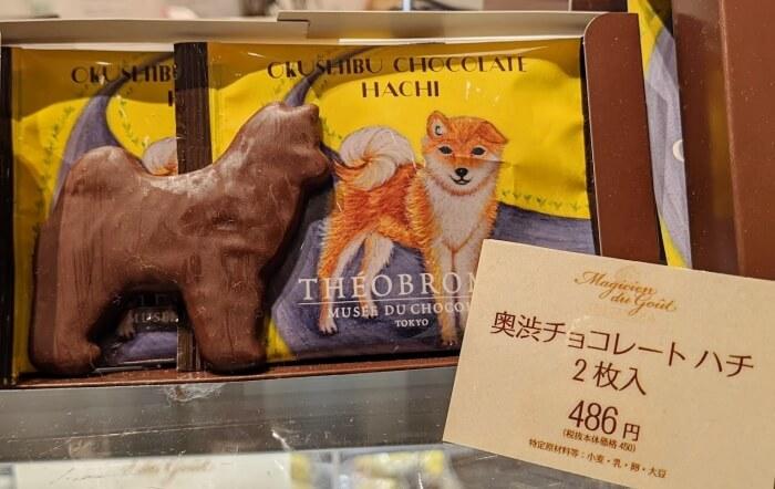 奥渋チョコレート ハチ /テオブロマ 渋谷スクランブルスクエア 限定 お土産