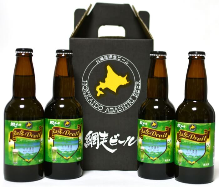 知床ドラフト/網走ビール 知床のお土産