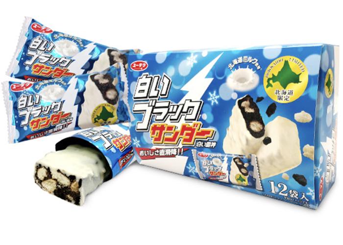 白いブラックサンダー/有楽製菓 函館空港のお土産