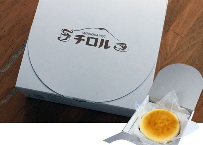 ふわっと超濃厚スプーンで食べるクリームチーズケーキ/チロル 盛岡駅のお土産